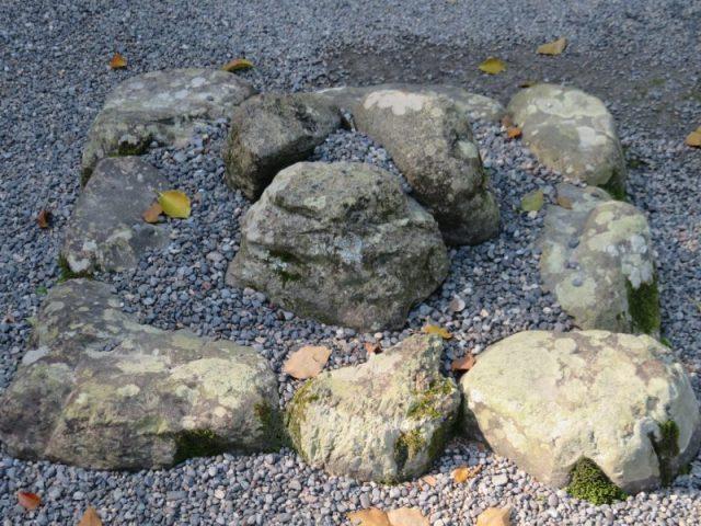 外宮のパワースポット「三つ石」